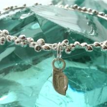 FTB02 Fair Trade Fair Mined Silver PEBBLE bangle (4) - Copy
